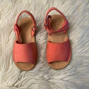 Zara leather sandals